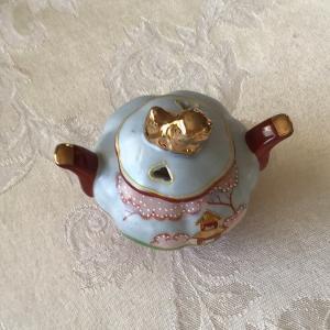 Photo of Miniature antique Japanese tea sugar holder made in Japan