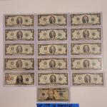 Lot 173 - Assortment of USA Paper Money Currency