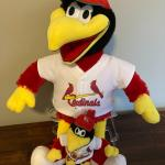 2 Fredbirds  - St. Louis Cardinals Mascot WITH BOX , Build-a-Bears with box