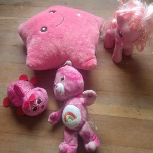 Photo of My little Pony and Care Bear