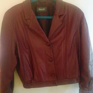 Photo of Bally Leather Jacket Made in Italy