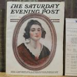 Antique Saturday Evening Post Oct 15th 1921