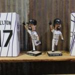 Colorado Rockies Bobbleheads - QTY 4