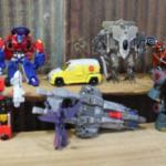 Vintage 1980s / 90s Transformers - Loose - QTY 7