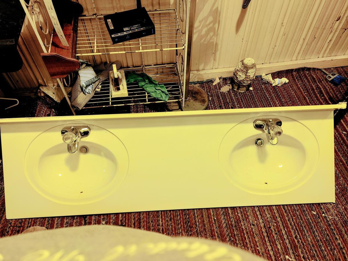Photo 2 of Double vanity bathroom sinks