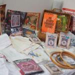 Lot 30 Needlework Vintage embroidery kits