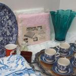 Lot 35 Churchill Blue white china