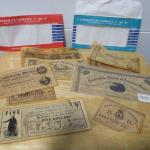Lot 215 - Antiqued Reproduction Confederate Currency