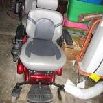 Lot 211 - Golden Electric Scooter Chair
