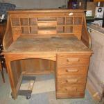 Lot 209 - Roll Top Desk