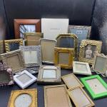 Huge Lot of Small Picture Frames YD#012-1120-00022