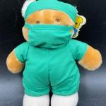 Vintage Dakin Dr. Teddy MD Plush Bear YD#012-1120-00102