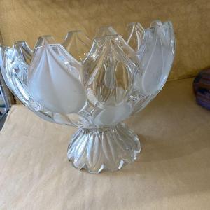 Photo of Pedestal Glass Serving Bowl