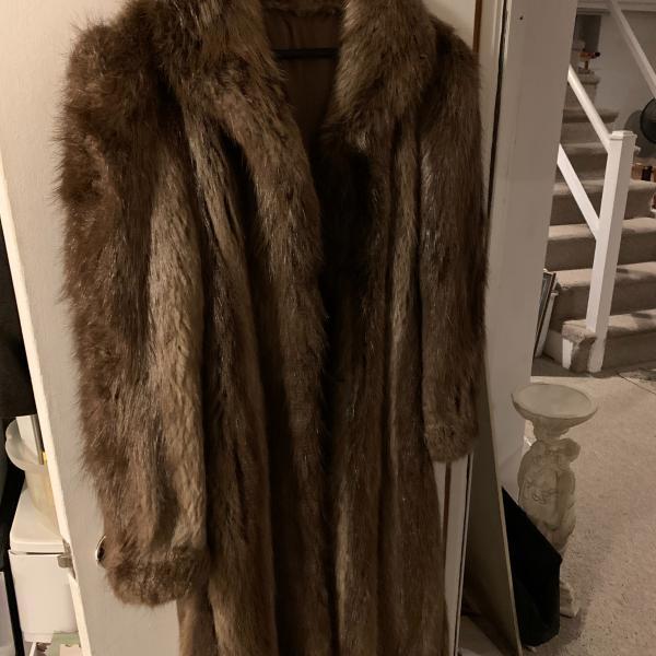 Photo of Fur coat jacket