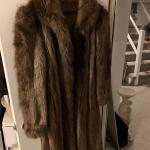 Fur coat jacket
