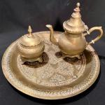 Lot 87: Vintage Brass Teapot and more