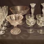 Lot 92; Crystal Flutes and more