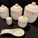 Lot 86: Kitchen Cannisters