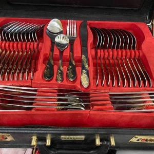 Photo of Solinger German Silverware.