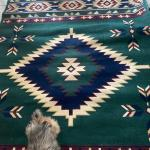 Large Area Rug with Fringe