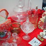 Lot 49 Vinatge cermaics, Easter, Glass Collectibles, Large glass terrerium