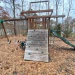 Elaborate swing set