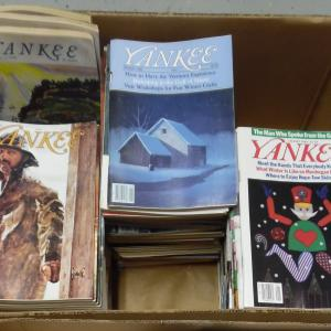Photo of Yankee Magazine - 86 different issues 1979 to 1989.