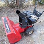 snowblower  Murray no electric starter- pull start only