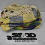 Hammock. No rips or tears. Yellow/Blue/Red/Green