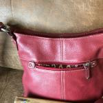 Burgundy Tinganello Purse