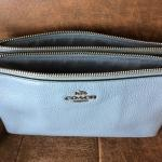 Baby Blue Crossbody Coach Purse