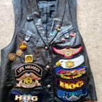 Size Small Womans Harley Davidson Vest