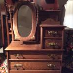 Lot 143:  Small Wooden Dresser Chest