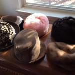 Lot 116:  Vintage Hats