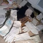 Lot 117:  Vintage Hankies And Gloves
