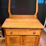 Lot 81: Antique 1800s Washstand