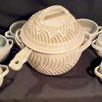 Lot 82: Gobble Pottery set