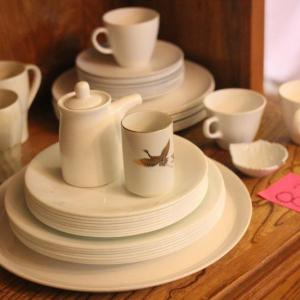 Photo of Lot 83 White Ceramic Dishes & Misc. Items - Corelle