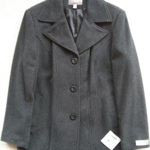 Photo of NEW Women's Wool Blend Coat - Size Large