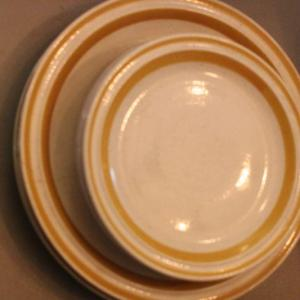 Photo of Lot 60 Charmcraft Stoneware Apple Blossom Plates