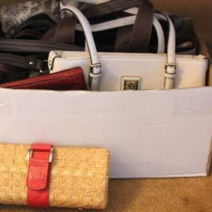 Photo of Lot 50 Women's Purses - Valentina Italy, Guess & More