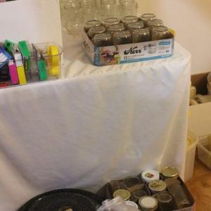 Photo of Lot 69 Canning Pot & Jars