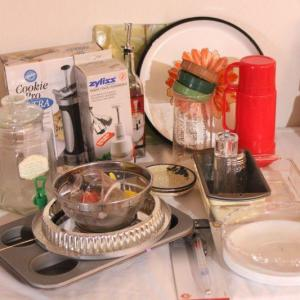 Photo of Lot 65 Misc. Kitchen Items