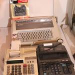 Lot 66 Smith Corona Typewriter, 2 Adding Machines