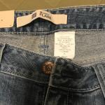 Brand New Flare Bottom Girls Blue Jeans - Size 8