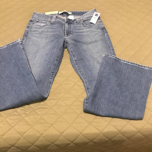 Photo of Brand New Flare Bottom Girls Blue Jeans - Size 8