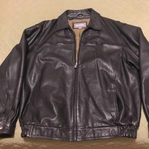 Photo of Never Used Mens Wilson Black Bomber Jacket-  Size XL