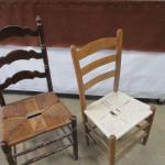 Lot 225 - Wooden Chairs