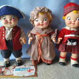 Photo of Vintage Campbell's Soup Kid Dolls