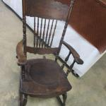 Lot 224 - Vintage Rocking Chair